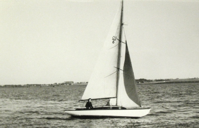 Yacht Racing Association of Northumberland Strait Class 3 boat probably Zenith